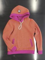 Walkhoodie Schnippenkopf Orange-Pink