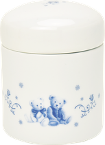 骨壷(テディベア・ピンク/ブルー)2.3寸 覆箱付