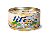 LIFE CAT POLLO FINEMENTE MACINATO 70G