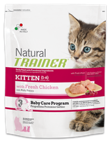 NATURAL TRAINER KITTEN AL POLLO 1,5KG