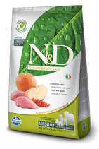 N&D grain free cinghiale e melograno adult medium 12kg