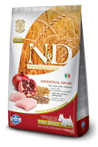 N&D farmina ancestral grain pollo e melograno - adult mini