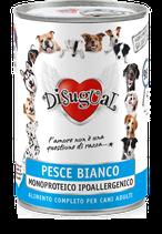 DISUGUAL - MONOPROTEICO PESCE BIANCO - 6 x 400G