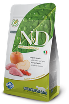N&D grain free adult cat cinghiale e mela 1,5 kg