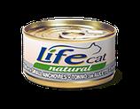 LIFE CAT TONNO CON ALICETTE 70G