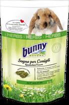 Sogno per Conigli HERBS - Mangime completo per Conigli nani dal 6° mese di vita -750g