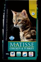 MATISSE ADULT CAT POLLO & TACCHINO 1,5KG