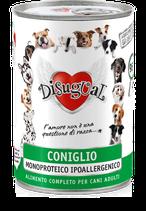 DISUGUAL - MONOPROTEICO CONIGLIO - 6X400G