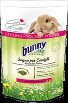 Sogno per Conigli YOUNG - Mangime completo per Conigli nani fino al 6° mese di vita - 750g