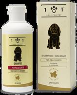 Shampoo   +   Balsamo   per   Pelo   Corto   ml   250