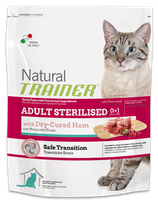 NATURAL TRAINER ADULT STERILISED CON PROSCIUTTO CRUDO 1,5KG