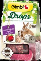 Snack senza cereali - Ideale per criceti, topolini, gerbilli, cincillà, degu del Cile, ratti, altri piccoli roditori e conigli. 50g