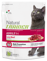 NATURAL TRAINER ADULT CAT CON MANZO 1,5KG