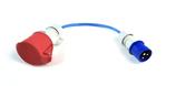 go-eCharger: Adapter CEE blau