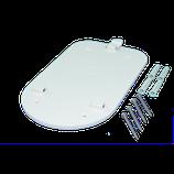 go-Charger: Zusätzliche Wandmontageplatte