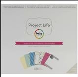 .. Becky Higgins / American Crafts - Project Life - Core Kit { Blush Edition }