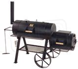 """Joe´s BBQ Smoker 16""""Texas Classic mit Kochplatte, Front- u. Bodenablage"""