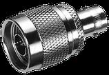 Adapter BNC-Buchse auf N-Stecker