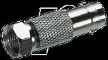 Adapter BNC-Buchse auf F-Stecker