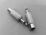 Adapter Chinchkupplung auf Klinkenstecker -mono-
