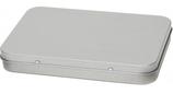 A6-Dose mit Scharnierdeckel Masse 165 x 110 x 23 mm
