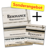 "Bundle Audio-CD & Notenbuch ""Resonance - Works for piano vol. I"""