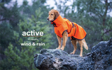 ACTIVE cape WIND & RAIN Orange