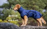 ACTIVE cape WIND & RAIN Blau