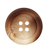 Polyesterknopf 4-Loch, 25 mm