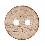 Kokosknopf, 2-Loch, 15 mm