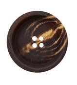 Polyesterknopf 4-Loch, 23 mm