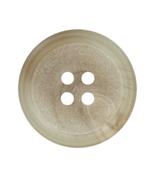 Polyesterknopf mit Rand, 2-Loch, 15 mm