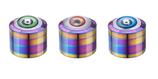 """Grinder """"Champ High Red Eye Rainbow"""", 50mm, 4-tlg"""