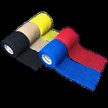 LisaCare Fixierbinde 5cm Breite x 4,5m Länge | 3er-Set unsortierte Farben | Kohäsive Bandage | Wundverband | Pflasterverband | elastisch, dehnbar, selbsthaftend, ohne Kleber