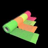 Bunter Neon-Mix 4er Set LisaCare Pflasterverband 7,5cm Breite x 4,5m Länge