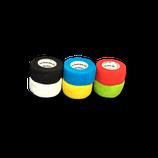 Bunter Farb-Mix 6er Set LisaCare Pflasterverband 2,5cm Breite x 4,5m Länge