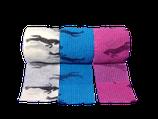 Bunter Pferde-Mix 3er Set LisaCare Pflasterverband 5cm Breite x 4,5m Länge