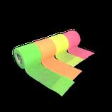 Bunter Neon-Mix 4er Set LisaCare Pflasterverband 5cm Breite x 4,5m Länge