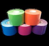 Bunter 5er Farb-Mix Kinesiologie Tape LisaCare 5cm v2