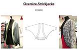 Oversizejacke, one-size