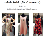 """A-Kleid / Hängerchen """"Fiona"""" Gr. 34-46"""