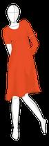 """weites A-Kleid  & Tunika """"Fiona"""" Gr. 34-48"""