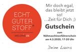 """GUTSCHEIN 5 per PDF: """"Mir doch egal, das bleibt jetzt so! ...Zeit für Dich."""""""