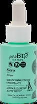 Siero Sebo-normalizzante Opacizzante puroBIO for skin
