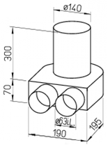 Kit plenum sol - FRS-BKGS 2-63 - Flexpipe Helios