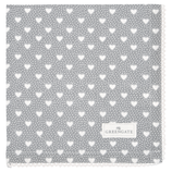 Penny grey Napkin with lace