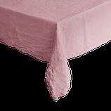 Tablecloth Au Maison Linen Basic old rose