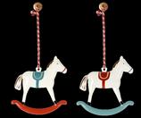 Ornament Schaukelpferde 2021(Vorbestellung Lieferung ab Herbst 2021)