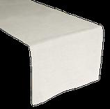 Tischläufer Au Maison Linen Basic white