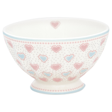 French Bowl medium Penny white